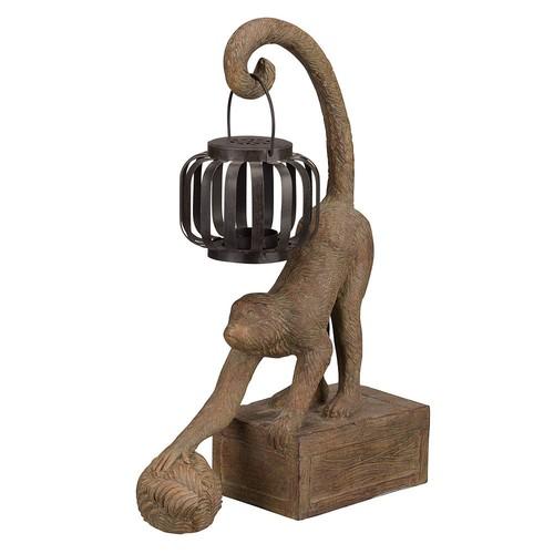 Bombay Outdoors Gibraltar Monkey Lantern - Indoor / Outdoor