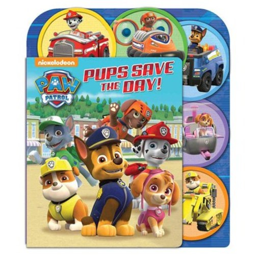 PAW Patrol: Pups Save the Day: A Sliding Surprise Book