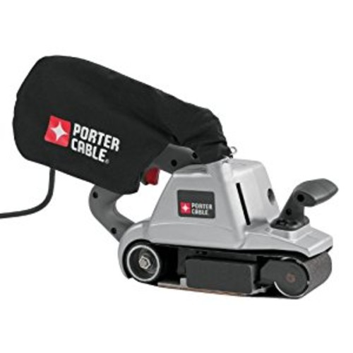 PORTER-CABLE 360 12 Amp 3-Inch by 24-Inch Belt Sander with Cloth Dust Bag