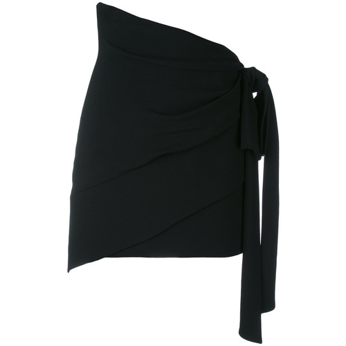 SAINT LAURENT Tie-Waist Skirt