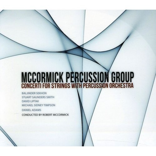 Concerti for Strings with Percussion Orchestra [Enhanced CD]