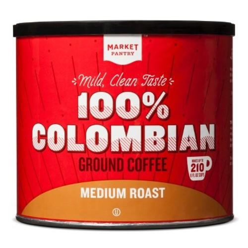 100% Columbian Coffee 27.8oz - Market Pantry