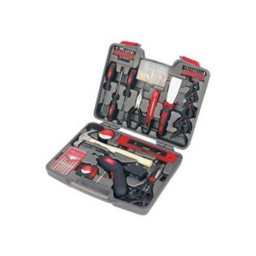 Apollo Precision Tools DT8422144-Piece Household Tool Kit with 4.8-Volt Cordless Screw driver