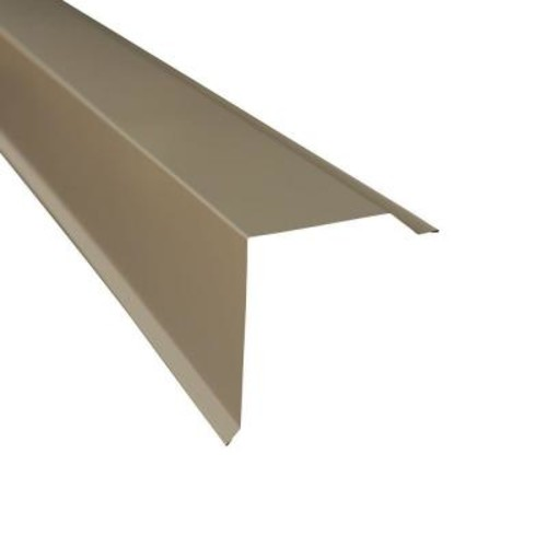 Metal Sales Gable Trim in Charcoal