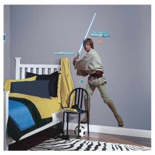 RoomMates Star Wars Classic Luke Peel & Stick Giant Wall Decal