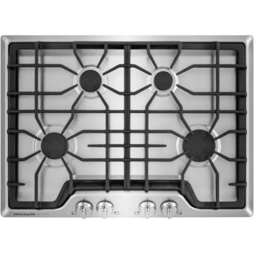 Frigidaire Gallery 30 in. Gas Cooktop in Stainless Steel with 4 Burners