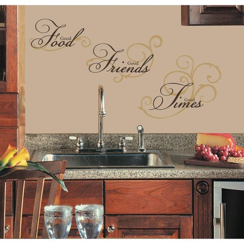 RoomMates Good Food Peel and Stick Wall Decal