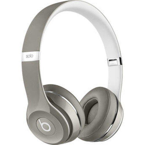 Beats by Dr. Dre Solo2 On-Ear Headphones (Luxe Edition) - Silver