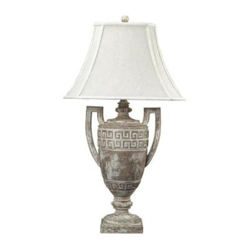 Titan Lighting Greek Key 34 in. Allesandria Table Lamp