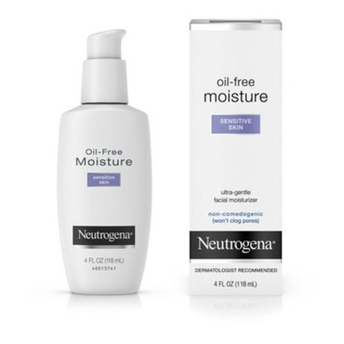 Neutrogena Oil-Free Moisture Sensitive Skin - 4 Fl Oz