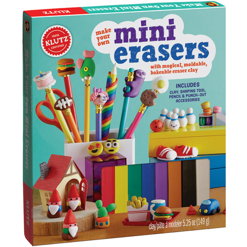 Klutz Press Make Your Own Mini Erasers Kit-