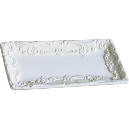 Baroque Small Rectangular Platter