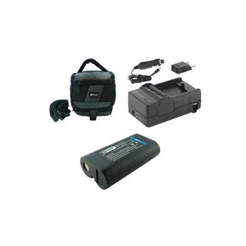 Kodak Z612 Digital Camera Accessory Kit includes: SDC-27 Case, SDKLIC8000 Battery, SDM-181 Charger