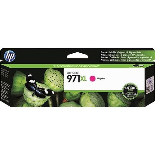 HP 971XL Magenta Ink Cartridge (CN627AM), High Yield