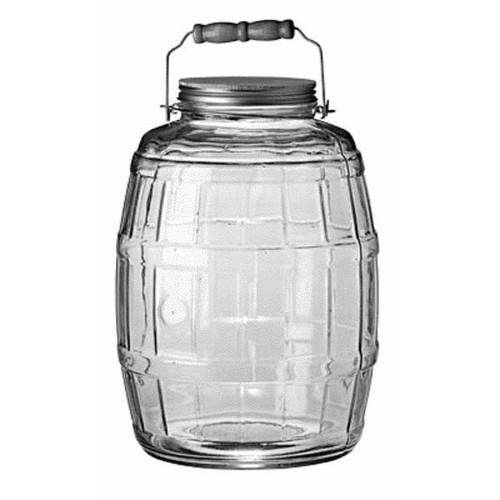 Anchor Hocking Barrel Jar - 85679