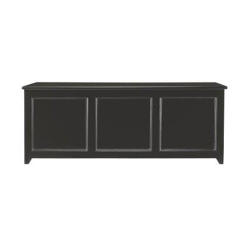 Martha Stewart Living Craft Space 50 in. W 3-Compartment Wood Chest Cabinet in Silhouette