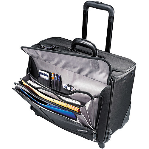 Samsonite Luggage Wheeled Catalog Case [Black]