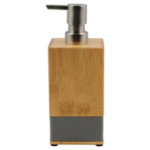 Soft Bamboo Soap Pump Gray - Room Essentials