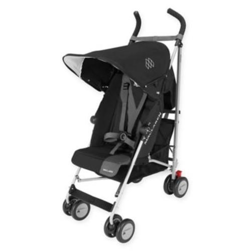 Maclaren Triumph Stroller in Black/Charcoal