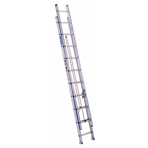 Werner Type III Aluminum Extension Ladder - D1124-2