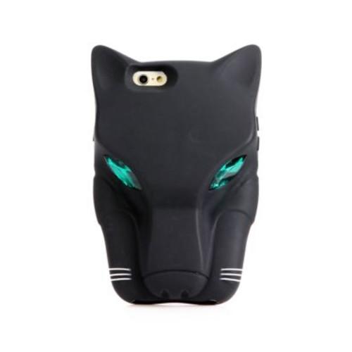 Jeweled Jaguar Silicone iPhone 6 Case