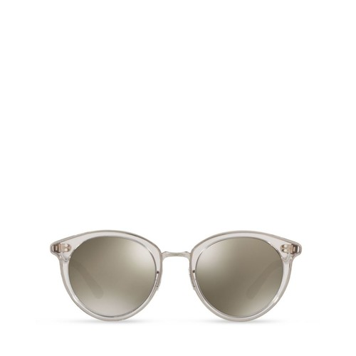 OLIVER PEOPLES Spelman Mirrored Round Sunglasses, 50Mm