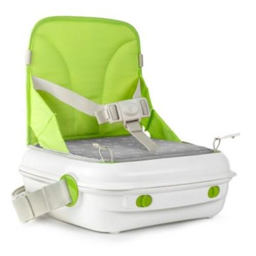 benbat YummiGo Portable Booster Seat in Green/Gray