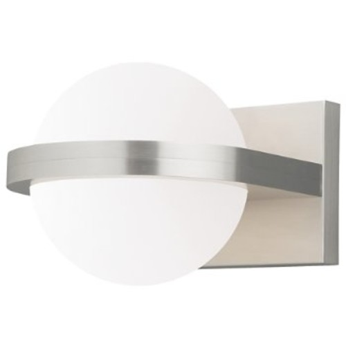 Capture Flush Mount Wall/Ceiling Light [Voltage : 120 Volt; Finish : Satin Nickel]