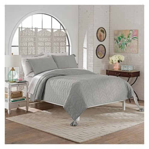 Nadia Quilt Set 3pc - Marble Hill
