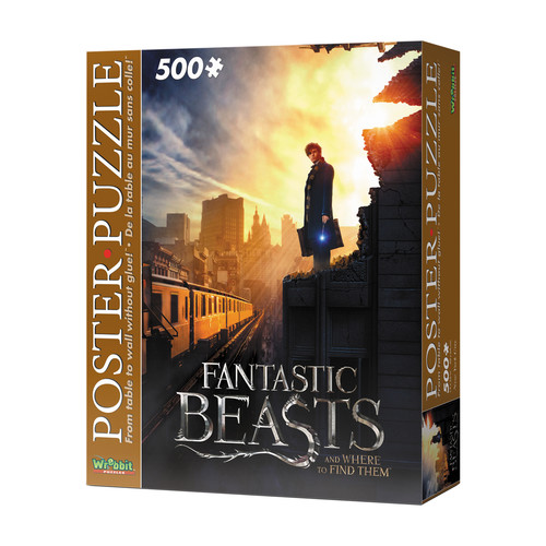 Wrebbit Puzzles Fantastic Beasts New York City 500 Piece Poster Puzzle
