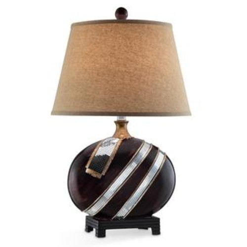 ORE International Kukui 28.5-inch Modern Table Lamp