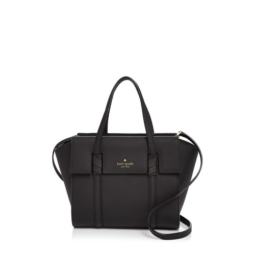 KATE SPADE NEW YORK Daniels Drive Abigail Small Leather Satchel