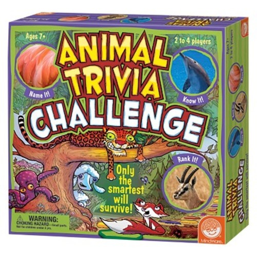 Animal Trivia Challenge Board Game
