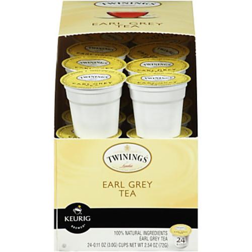 Twinings Earl Grey Tea K-Cup Pods, Box Of 24