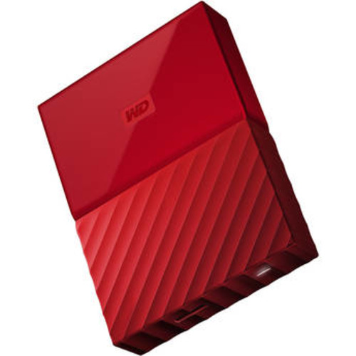 4TB My Passport USB 3.0 Secure Portable Hard Drive (Red)