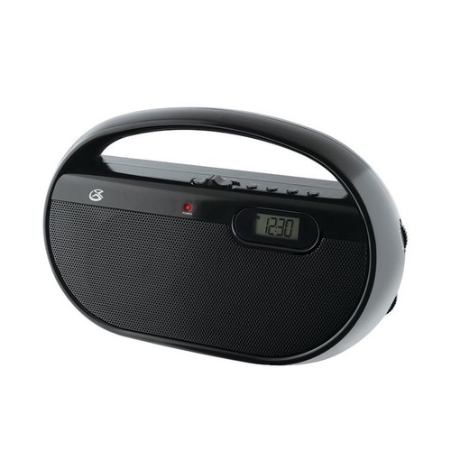 GPX AM/FM Portable Radio - Black