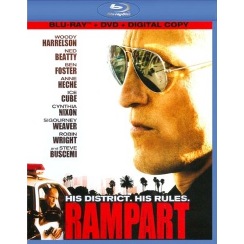 Rampart (2 Discs) (Blu-ray/DVD)