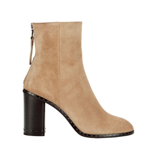 RAG & BONE Blyth Suede Studded Sole Booties