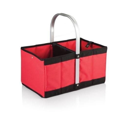 Picnic Time Urban Market Basket, Red [Red]