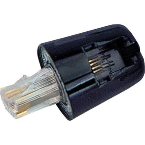Twisstop Rotating Phone Cord Detangler, Single Pack, Black