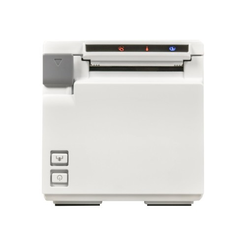 Epson TM m10 - Receipt printer - thermal line - Roll (2.3 in) - 203 dpi - up to 354.3 inch/min - USB, LAN (C31CE74021)