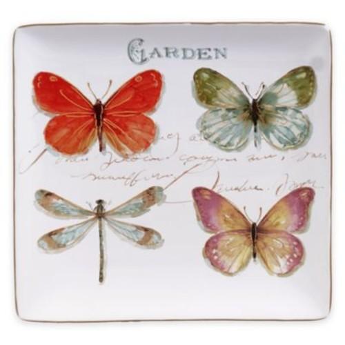 Certified International Rainbow Seeds 12.5-Inch Square Platter