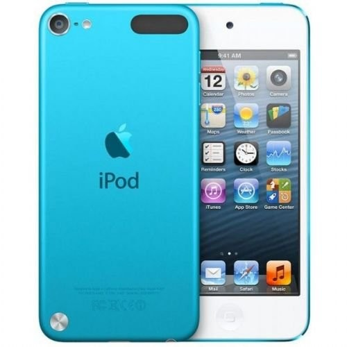 Apple iPod Touch 16 GB Blue (5th Generation) MP3 Player