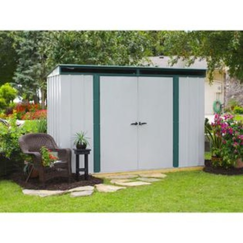 Arrow Euro-Lite Hot Dipped Galvanized Steel Shed (10' x 4')