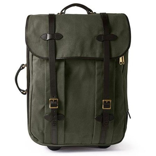 Filson Medium Twill Rolling Check-in Travel Bag, Otter Green 71291-OT