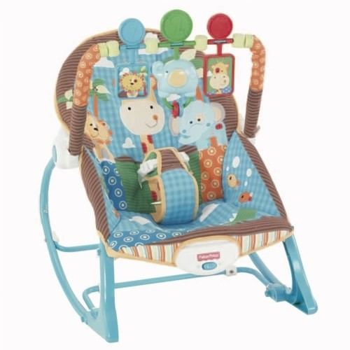 Fisher Price Infant-to-Toddler Rocker - Jungle Fun