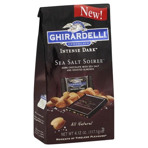 Ghirardelli Chocolate Chocolate, Sea Salt Soiree 4.12 oz (117.1 g)