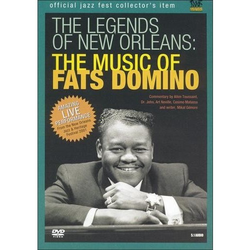 Domino F-Music of Fats Domino-Legends of New Orleans
