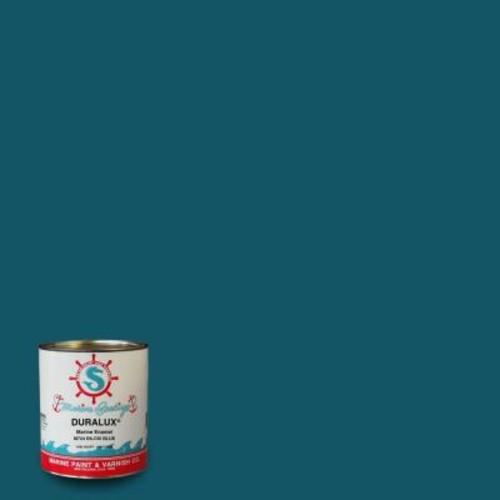 Duralux Marine Paint 1 qt. Biloxi Blue Marine Enamel