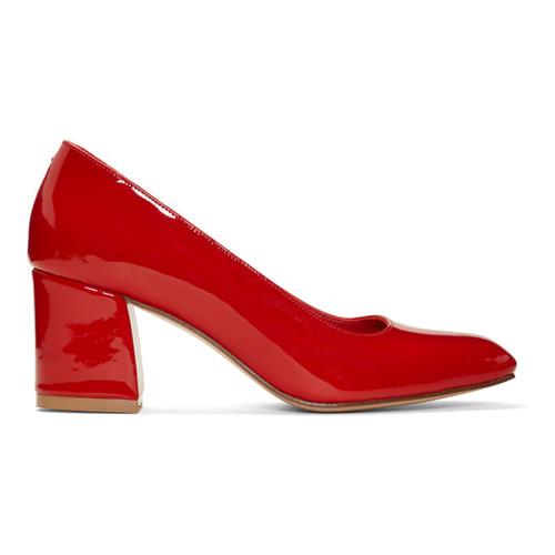 Red Patent Maryam Heels